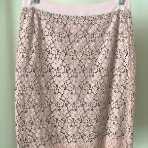 "Jcrew ""The Pencil Skirt"" Floral"